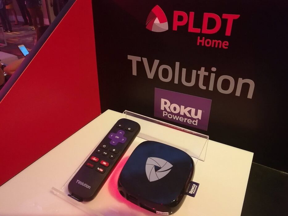 PLDT Home Launches Roku Powered TVolution; Yours for only Php199 per Month