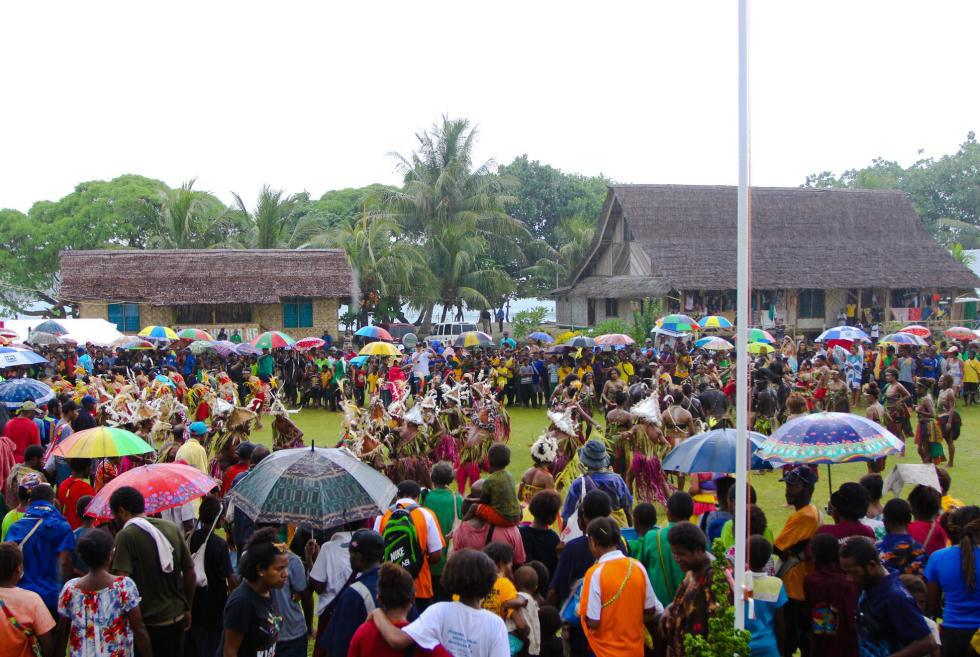 53 Opening Ceremony Kumul PNG World Longboard Championships foto WSL Tim Hain