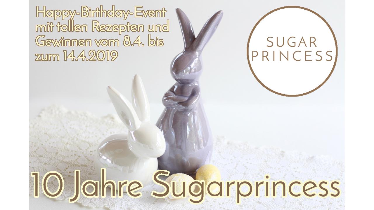 Easter Egg Club 2019 | 10 Jahre Sugarprincess | Oster-Kooperation und Gewinnspiel-Woche