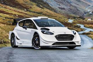 Ford Fiesta WRC 2017 Front Side