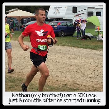 Nathan's first ultra marathon