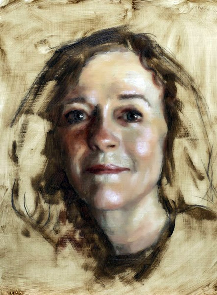 Candace X. Moore, Self Portrait, Portraits of Painters, Fine arts, Portraits of painters blog, Paintings of Candace X. Moore, Painter Candace X. Moore