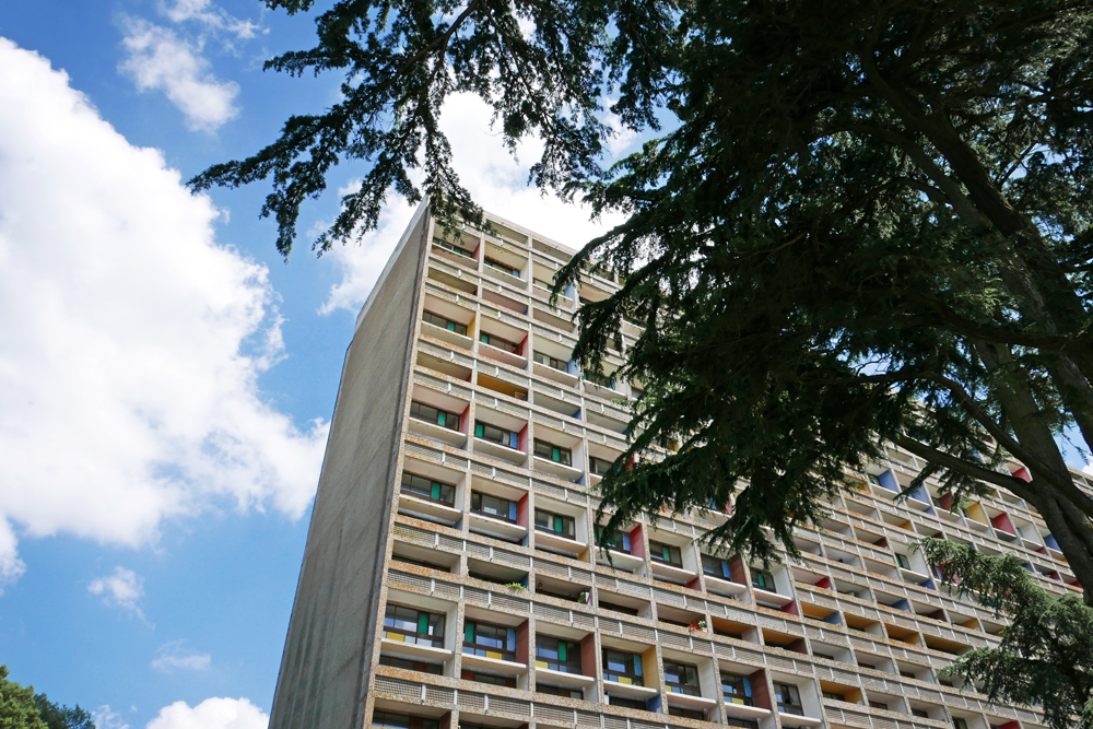Vue d'une partie de la Cité Radieuse de Rezé