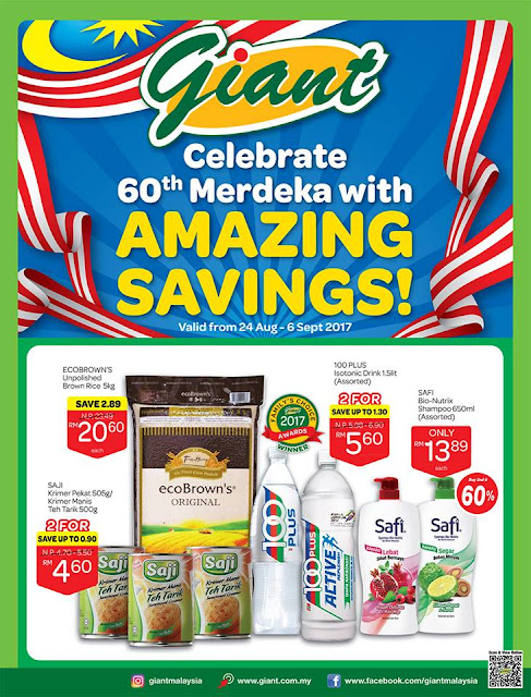 Giant Catalogue Celebrating Merdeka with Great Saving Promotion