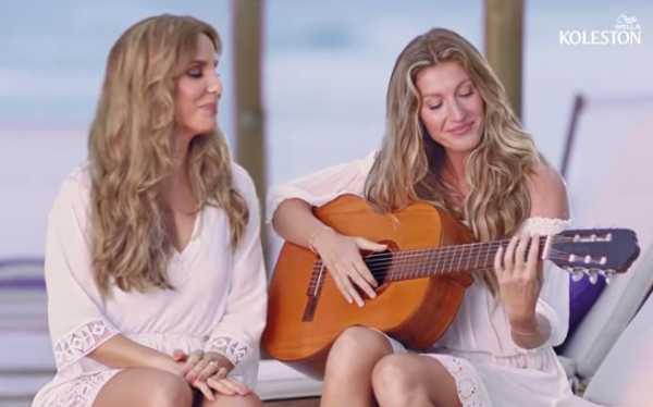 """Ivete Sangalo e Gisele Bündchen em """"Louros Poderosos"""" by Koleston"""