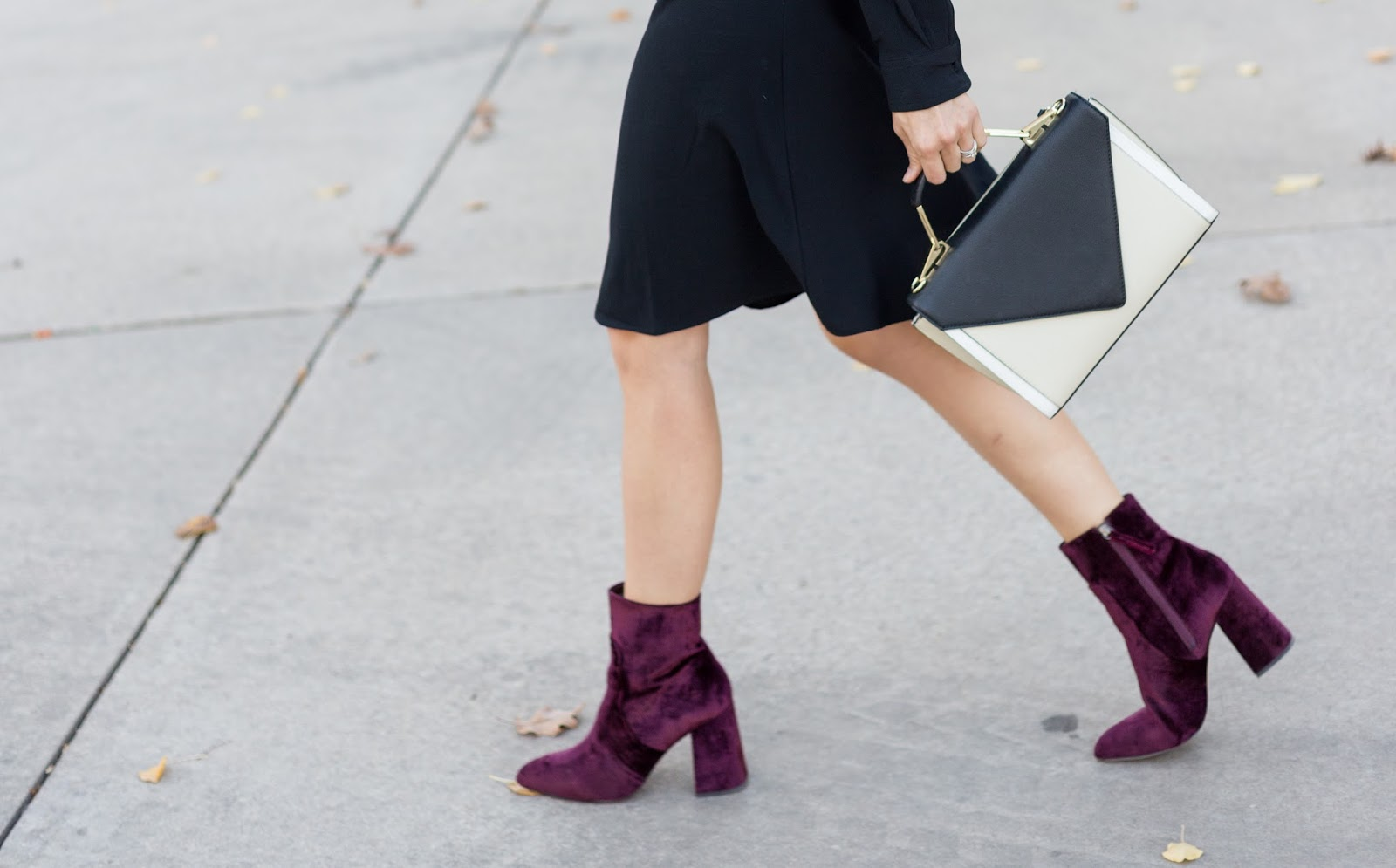 Burgundy Booties by Colorado fashion blogger Eat Pray Wear Love