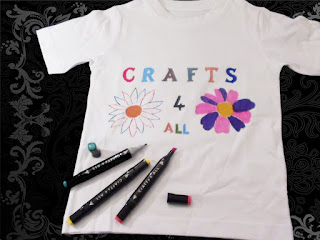 Create design with Fabric Markers Permanent 36 colours for T-shirts,bag,shoes £19.99  Amazon UKDeals