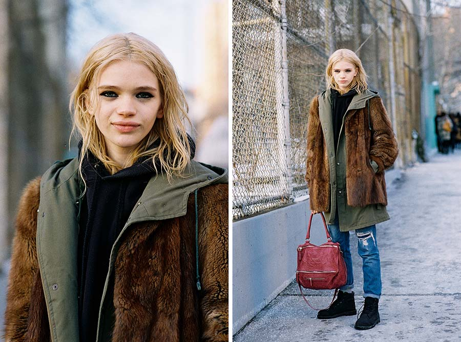 Vanessa Jackman New York Fashion Week Aw 2015 Stella