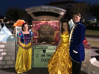 Princesses trunk or treat