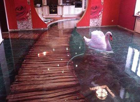 Fantastic 3D Epoxy Floor Designs Ideas