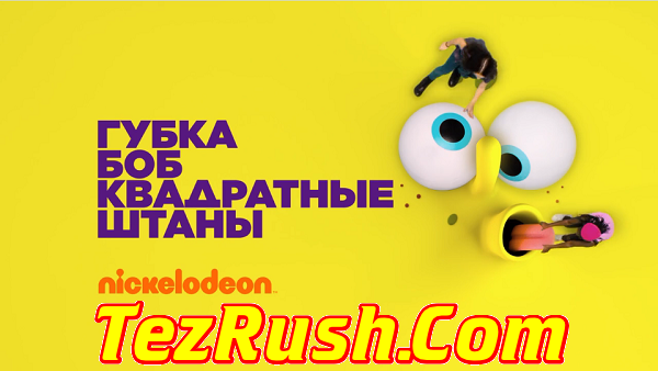 Nickelodeon Russia TV Channel Official Logo TezRush 2018