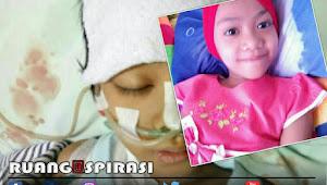 Kisah mengharukan Dicha Larasati yang berjuang melawan penyakitnya ditengah keterbatasan biaya