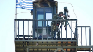 Οι Τούρκοι έβαλαν προβολείς στις Καστανιές στο σημείο που συνέλαβαν τους δύο στρατιωτικούς