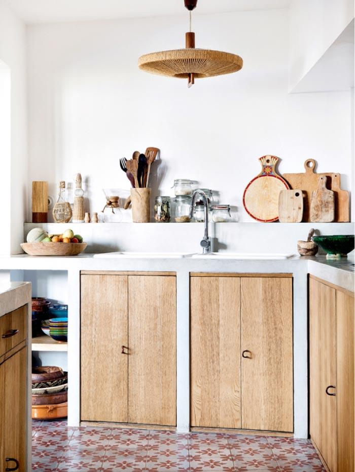 Una casa in perfetto stile etnico e bohemien blog di arredamento e interni dettagli home decor - Stile etnico casa ...