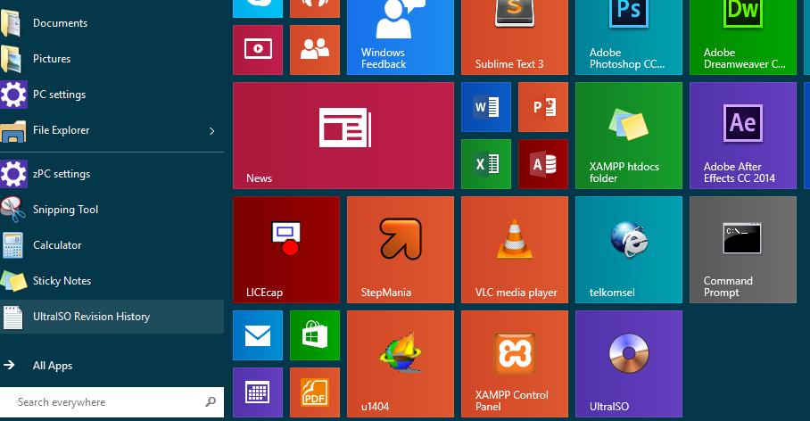 Solusi Apps Metro Tidak Dapat Dibuka | Windows 8, 8.1, 10