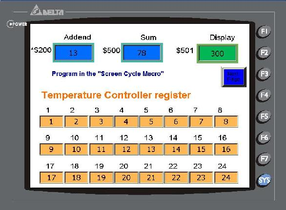 Delta HMI DOPA indirect register Example | PLC, PLC LADDER