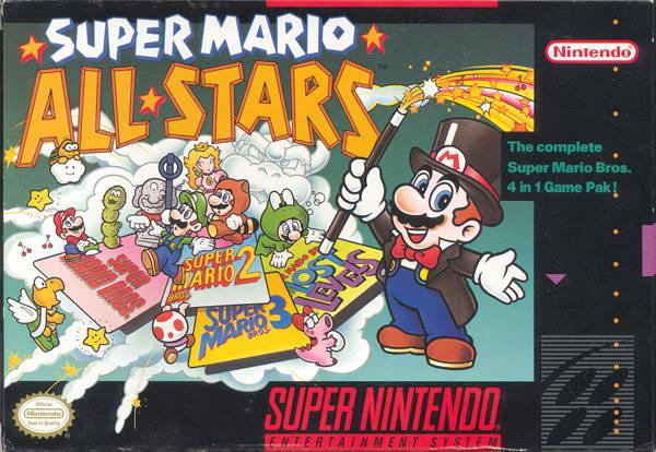 Super Mario All-Star [Español] - Portada