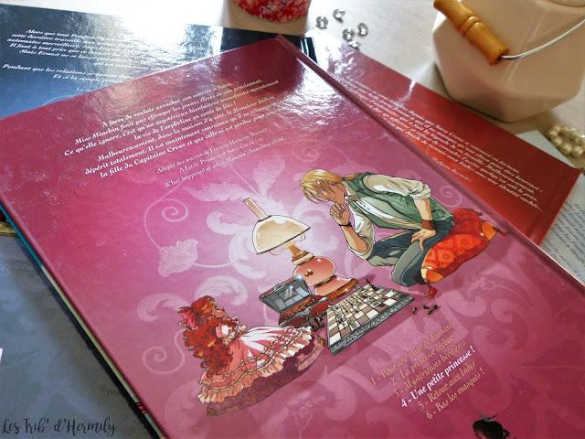 BD Princesse Sara Alwett Moretti Boccato Duclos éditions Soleil Blackberry tomes 1 à 8 Une petite princesse!