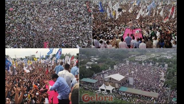 Petinggi Televisi sampai Terhenyak dengan Lautan Manusia yang Hadir Kampanye Prabowo