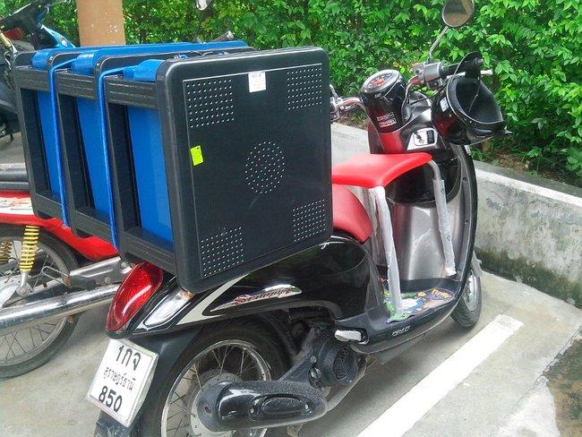 Перевозка вещей в Таиланде