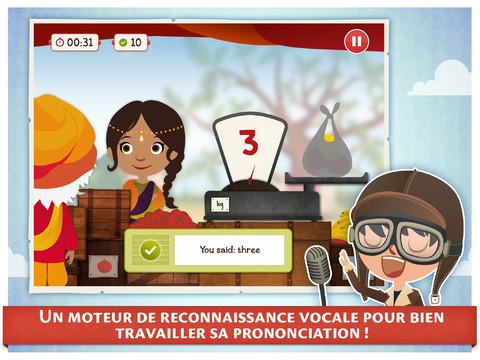 application pour apprendre langlais sur ipad gratuit