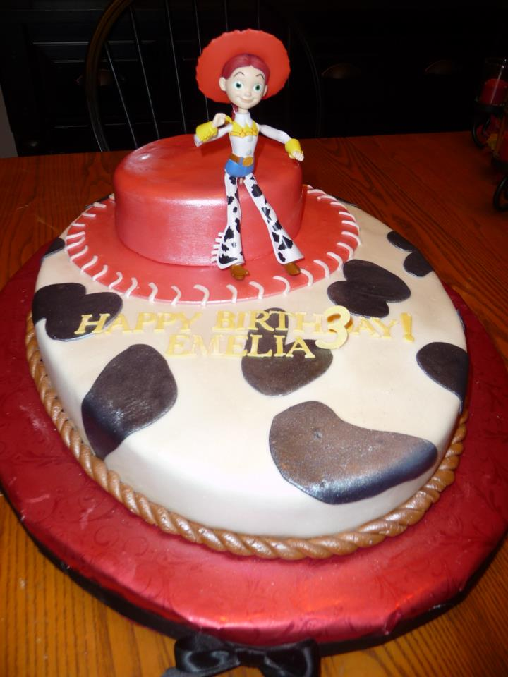 Icing On Top Cakes For Every Occasion Toy Story Jessie Birthday Cake