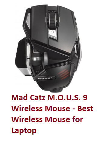 Mad Catz M.O.U.S. 9 Wireless Mouse - Best Wireless Mouse for Laptop