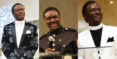 Pastor Chris Okotie declares his intention to run for Presidency in 2019 during Church Service