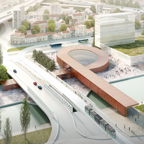 Tinuku Bjarke Ingels Group and Silvio d'Ascia Architecture won Paris metro station design competition