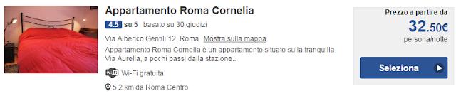 Appartamento Roma Cornelia