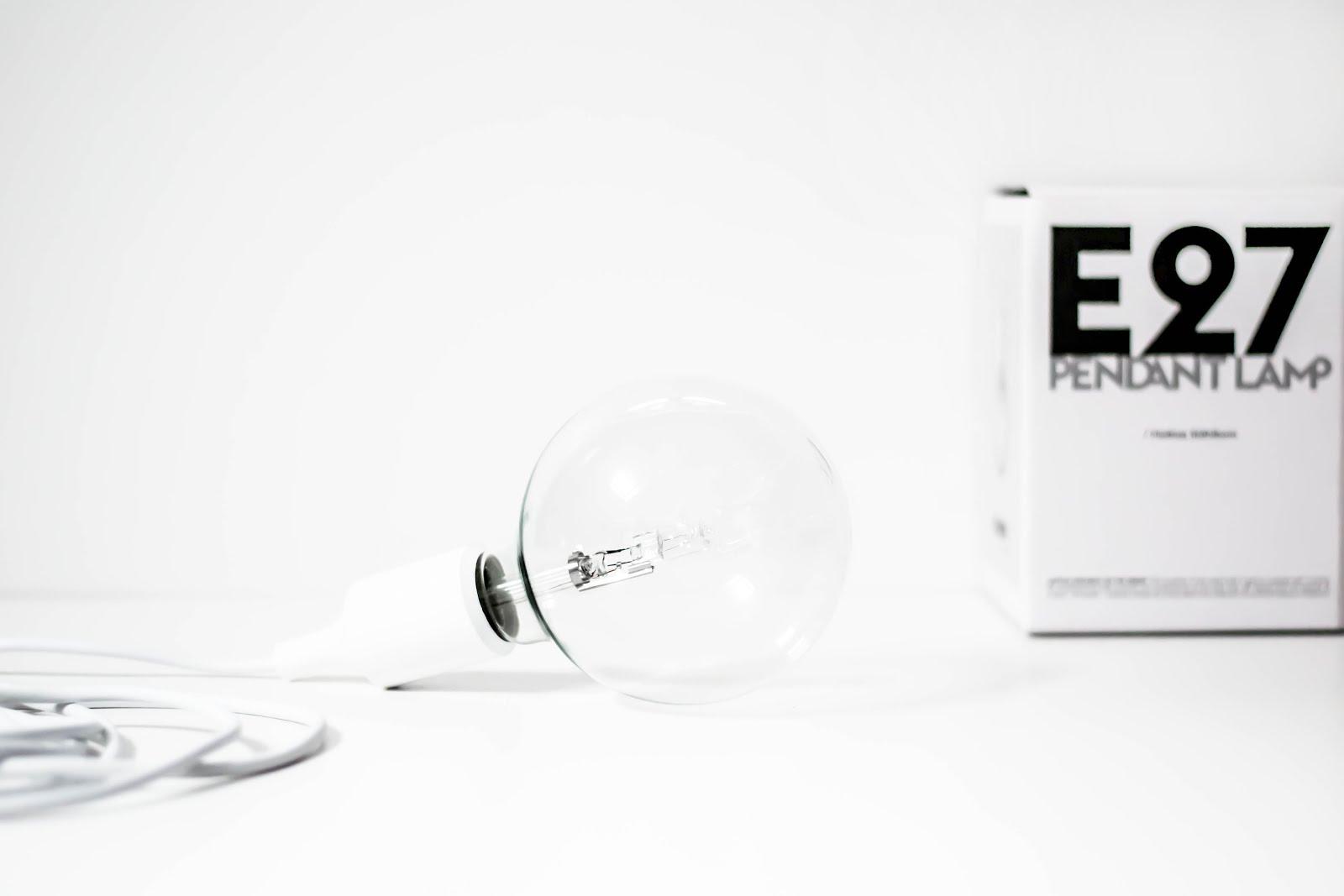Muuto, E27, socket, lamp, design, white, mister design, interior, minimal