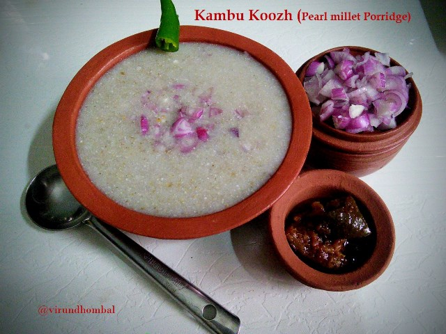 Kambu Koozh | Pearl Millet Porridge - How to prepare Kambu Koozh | Pearl Millet Porridge with step by step instructions | Millets Recipes