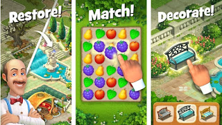 Gardenscapes Apk Mod New Acres v2.9.2 (Unlimited Coins) Free for Android