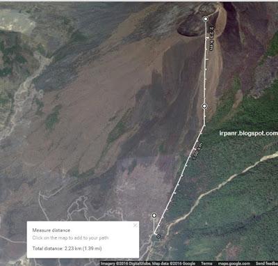 Rute Pendakian Gunung Guntur