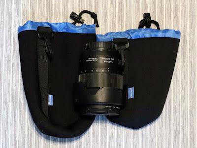 Potensic レンズポーチ Lサイズ、Mサイズ + Canon EF-S18-135mm F3.5-5.6 IS USM