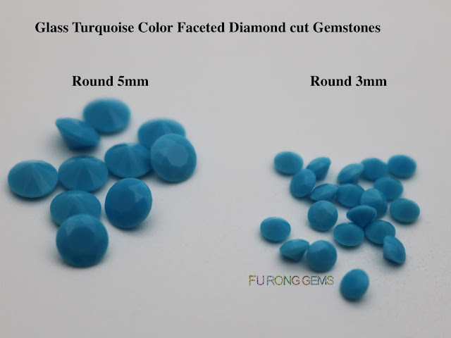 Glass-turquoise-Green-Color-Faceted-Diamond-Cut-Gemstones-Wholesale