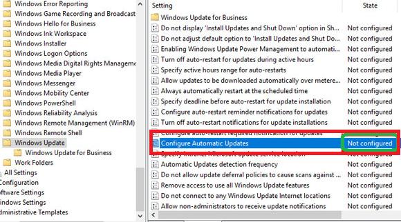 windows 10 auto update paket data habis