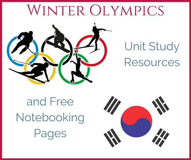 Winter Olympics Unit Study Resources