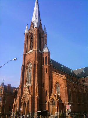 All Saints Catholic Church in Brooklyn, New York, Throop Ave.