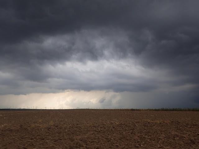 Okolice rumuńskiego wybrzeża zasnuły się chmurami