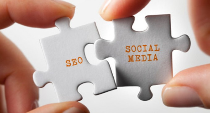 The Correlation Between Social Signals And Search Engine Ranking - infographic