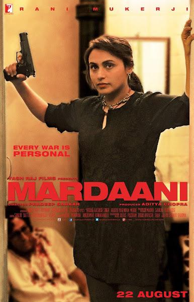 Poster of Mardaani 2014 720p Hindi BRRip Full Movie Download