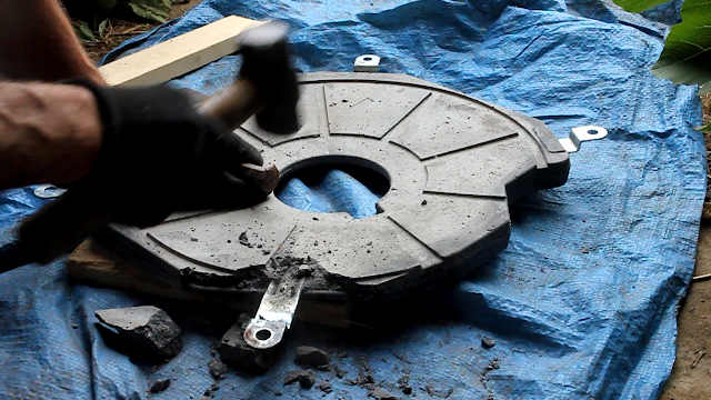 Reuse - Washing machine to pedal power conversion