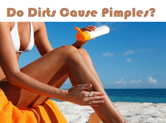 Do dirts cure pimples?