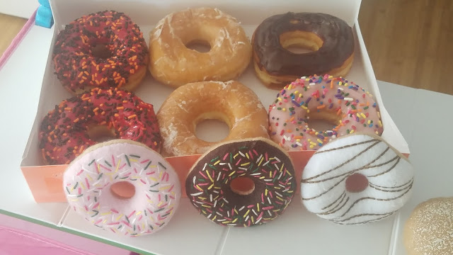 Pretend play, toys for kids, doughnuts