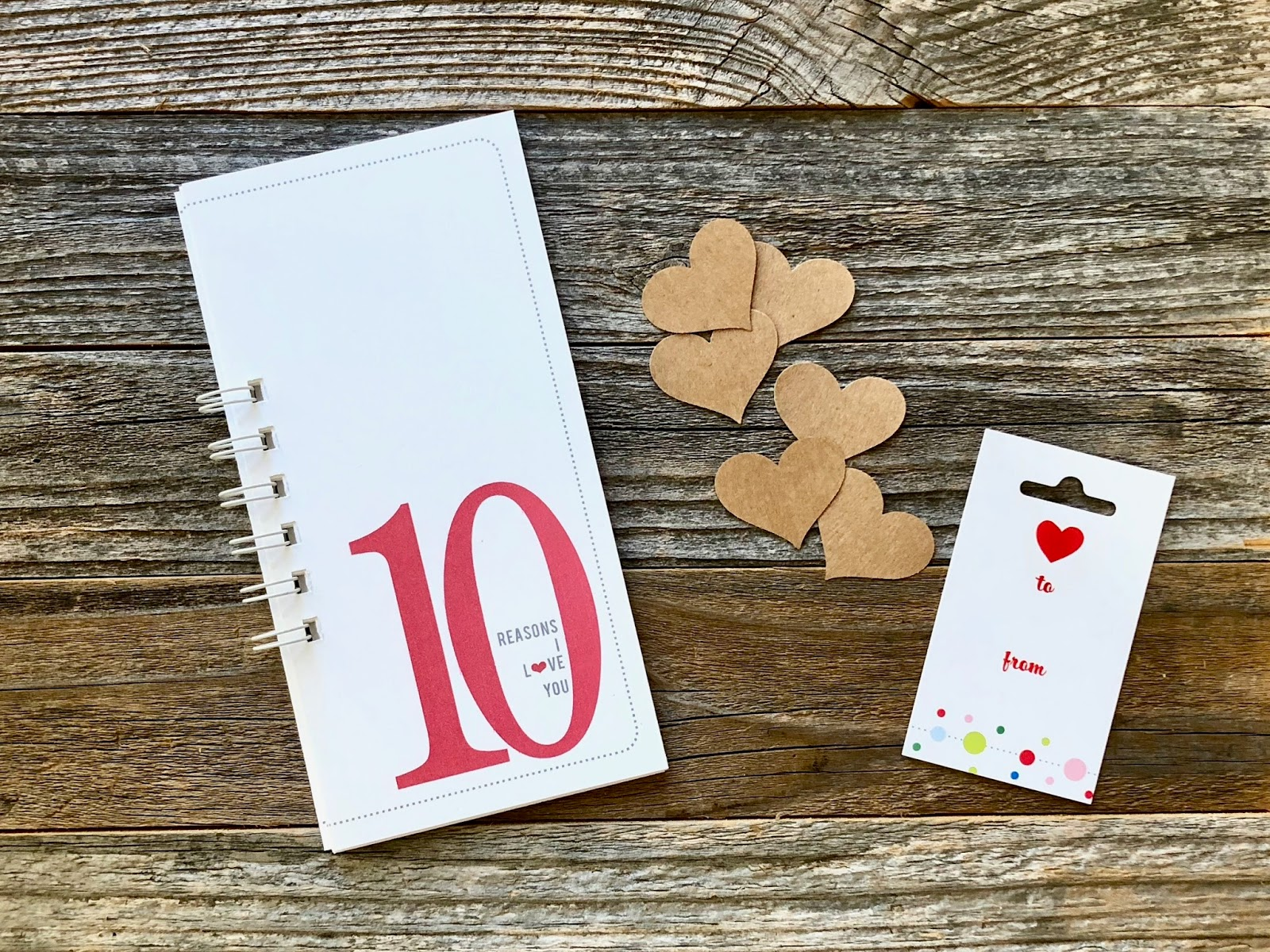 #10 Things #10 Reasons #10 Things I Love About You #Love #Valentine's Day Gift