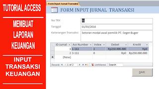 form input transaksi
