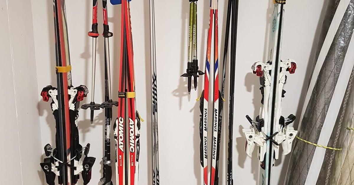 halterung f r ski langlaufski und st cke selber bauen. Black Bedroom Furniture Sets. Home Design Ideas