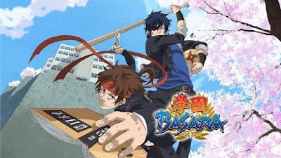 Gakuen Basara Episode 1-12 Subtitle Indonesia [Batch]