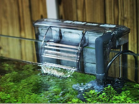 Hang On Tank Hot Atau Filter Gantung Memiliki Filtrasi Mekanik Yang Sangat Baik Ini Mudah Dibersihkan Dan Digunakan Tapi Hanya Co Untuk